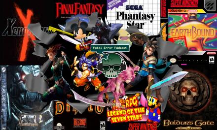 Fatal Error Nerd Especial Games #20: 50 RPGs para Jogar Antes de Morrer Pt. 1
