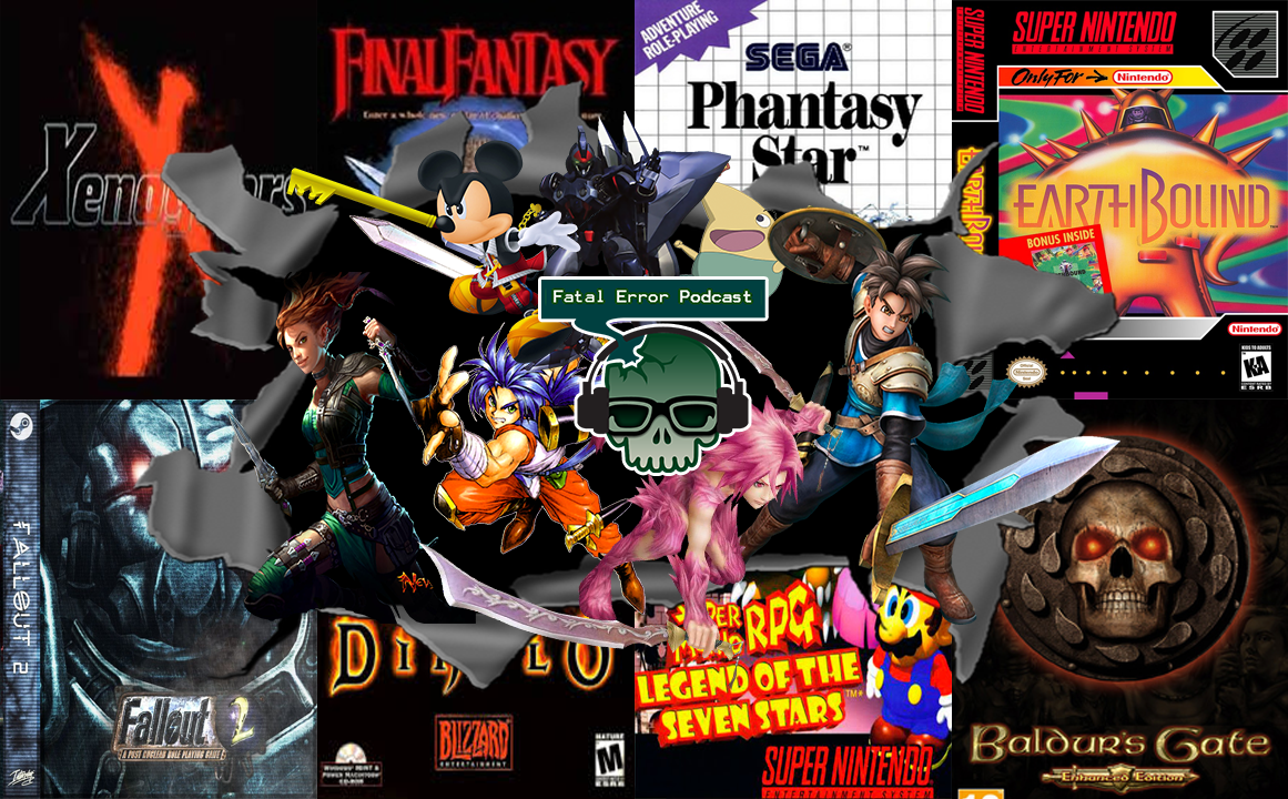 Fatal Error Podcast Especial Games #24: 50 RPGs para Jogar Antes de Morrer Parte 1