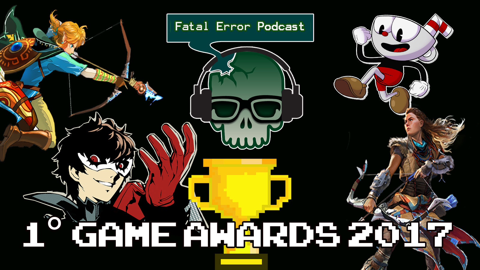 Fatal Error Podcast Games #22: 1° Game Awards da Fatal Error Nerd
