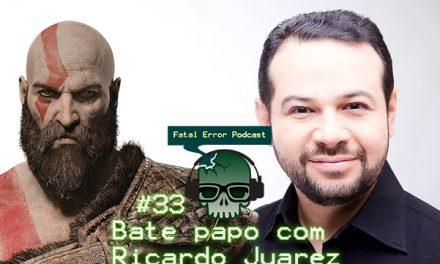 Fatal Error Nerd Talking, #24: Ricardo Juarez Dublador do Kratos